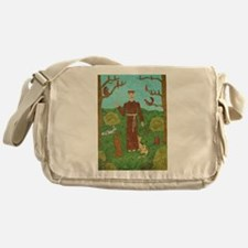 Saint Francis of Assisi Messenger Bag