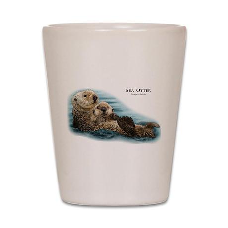 Sea Otter Shot Glass