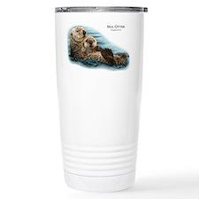 Sea Otter Travel Coffee Mug