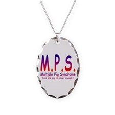 Multiple Pig Syndrome Necklace