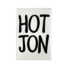 HOT JON Rectangle Magnet