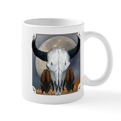 Buffalo skull 3 Mug