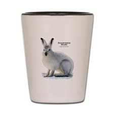 Snowshoe Hare Shot Glass