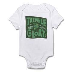 Snail: Tremble... Infant Bodysuit