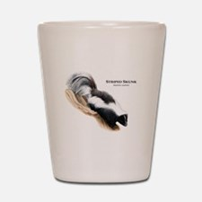 Striped Skunk Shot Glass