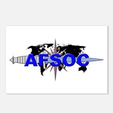 AFSOC (new) Postcards (Package of 8)