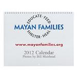 Wall Calendar: Maya Women in Guatemala