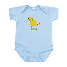 Jana Loves Puppies Infant Bodysuit