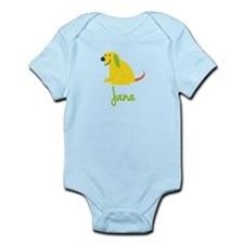 Jana Loves Puppies Onesie