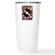 Vinyl Rules Travel Coffee Mug