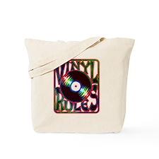 Vinyl Rules Tote Bag