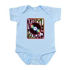 Vinyl Rules Infant Bodysuit
