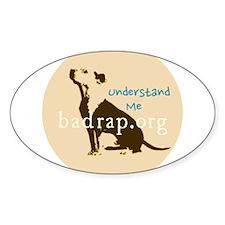 understand me Sticker (Oval)