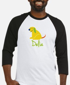 Delia Loves Puppies Baseball Jersey