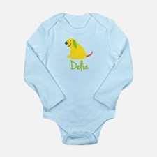Delia Loves Puppies Onesie Romper Suit