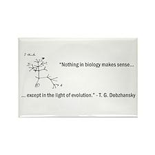 Dobzhansky Quote Rectangle Magnet