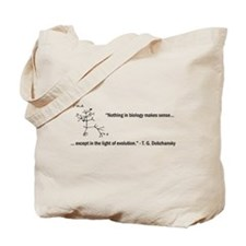Dobzhansky Quote Tote Bag