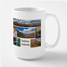Sedona, AZ Large Mug