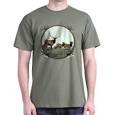 Monster bull elk elkahalic T-Shirt