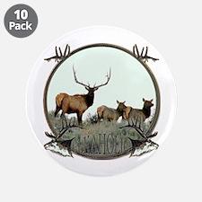 """Monster bull elk elkahalic 3.5"""" Button (10 pack)"""