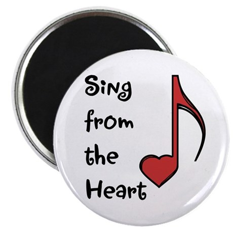 Sing from the Heart Magnet