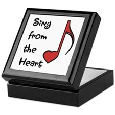 Sing from the Heart Jewelry Box