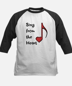 Sing from the Heart Kids Baseball Jersey