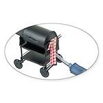 Ordering Food via Internet Sticker (Oval 10 pk)
