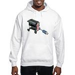 Ordering Food via Internet Hooded Sweatshirt