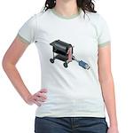 Ordering Food via Internet Jr. Ringer T-Shirt