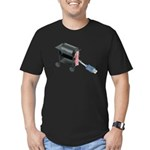 Ordering Food via Internet Men's Fitted T-Shirt (d