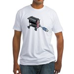 Ordering Food via Internet Fitted T-Shirt