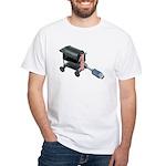 Ordering Food via Internet White T-Shirt