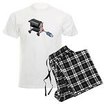 Ordering Food via Internet Men's Light Pajamas
