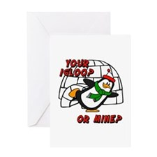 Your Igloo Or Mine? Chilly Willy Greeting Card