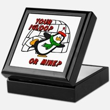 Your Igloo Or Mine? Chilly Willy Keepsake Box