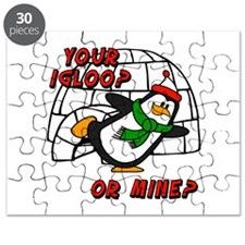 Your Igloo Or Mine? Chilly Willy Puzzle