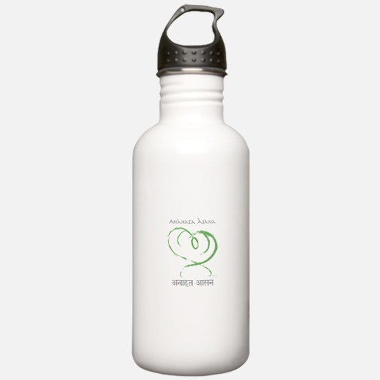 Cute Affirmations yoga Water Bottle