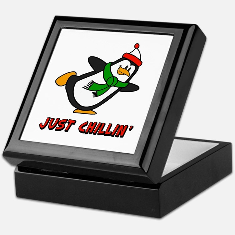 Just Chillin' Chilly Willy Keepsake Box