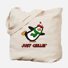 Just Chillin' Chilly Willy Tote Bag