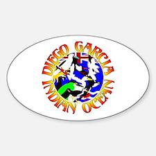 Diego Garcia Birds Sticker (Oval)