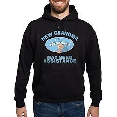 New Grandson Grandma Hoodie