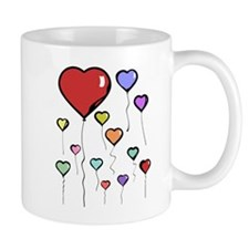 Balloon Hearts Mug