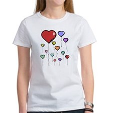 Balloon Hearts Tee