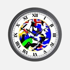 Diego Garcia Birds Wall Clock