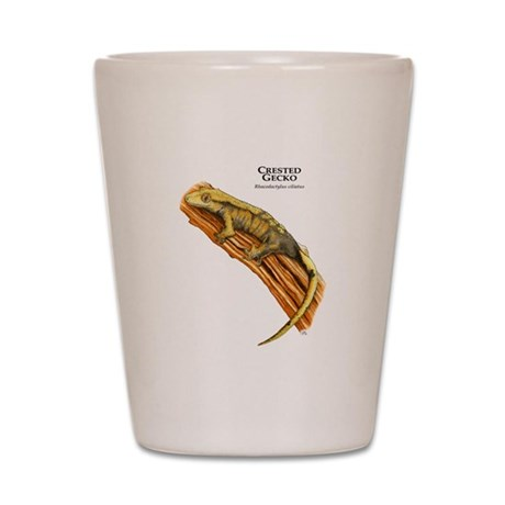 Crested Gecko Shot Glass