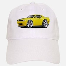 Challenger SRT8 Yellow Car Baseball Baseball Cap