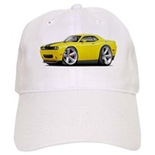 Challenger SRT8 Yellow Car Baseball Cap