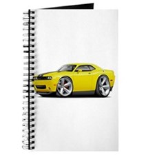 Challenger SRT8 Yellow Car Journal