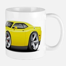 Challenger SRT8 Yellow Car Mug
